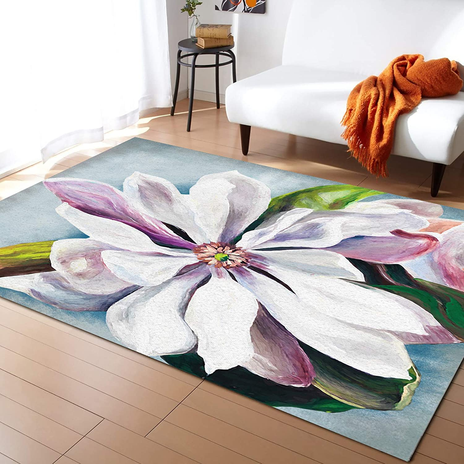 HomeDecorArt Large Area Rugs 5' gift x Cover Throw Floor Rapid rise Nu Carpet 7'