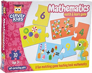 The Learning Journey Match and Learn Mathematics, Multi-Colour, 853603