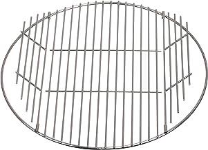 Brandseller -  Cepillo de acero inoxidable para parrilla, apto para parrilla plegable - No se oxida, acero inoxidable 18/0 ASI 430 sin níquel