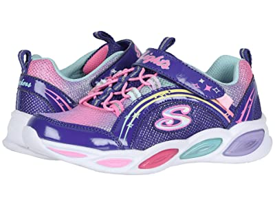 SKECHERS KIDS Shimmer Beams 20269L (Little Kid/Big Kid) (Blue/Multi) Girls Shoes