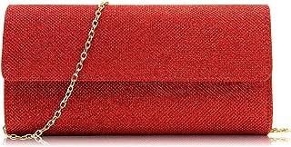 Bolso de mano para fiesta comodo barato oferta Todo de Rojo
