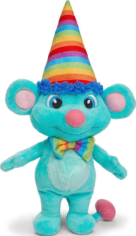 BirthdayLand Birthdaykins Birthday Plush Stuffed Animal Toy - Rainbow with App
