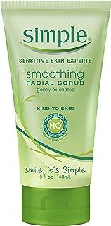 Simple Kind to Skin Facial Scrub, Smoothing 5 oz