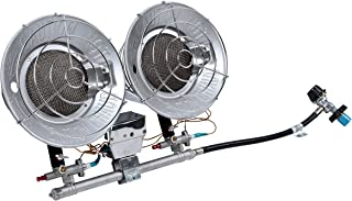 Pro-Temp PT-32-TTC Propane Heater, 32,000 BTU, Silver