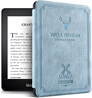 Case for Previous Kindle Paperwhite - (Not Fit All-New Paperwhite 2018 10th Gen), Blue