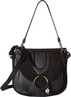 See by Chloe Womens Hana Suede & Leather Tote