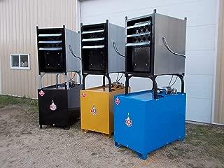 150,000 BTU Waste Oil Furnace & 125 Gallon Tank Package. 90 Day Guarantee & 5/1 Year Warranty (International Red)