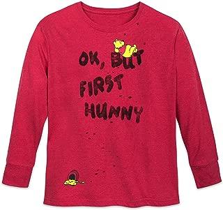 Disney Winnie The Pooh ''OK, But First Hunny'' T-Shirt Women Multi