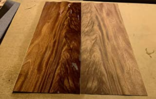 Crotch Mahogany wood Veneer 12 3/4