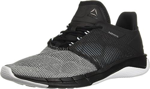 Reebok Wohommes Fast Flexweave FonctionneHommest chaussures, noir Dreamy bleu blanc s, 8 M US