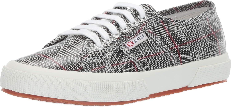 Superga Womens 2750 Tartanplw Sneaker
