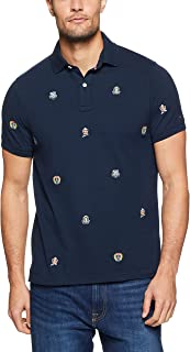 Tommy Hilfiger Men's Embroidered Slim Fit Polo Shirt