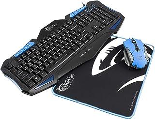 White Shark Cherokee Pack Gaming Teclado Ratón y Alfombrilla ...