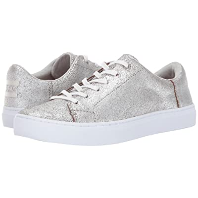 TOMS Lenox Sneaker (Silver Metallic Leather) Women