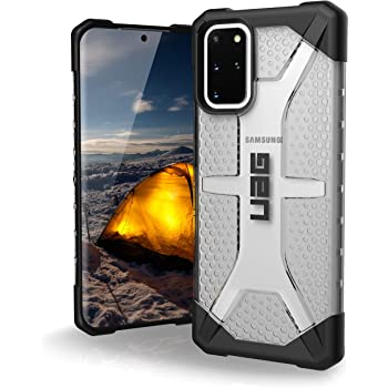 URBAN ARMOR GEAR UAG Samsung Galaxy S20 Plus Case [6.7-inch Screen] Plasma [Ice] Rugged Translucent Ultra-Thin Military Drop Tested Protective Cover