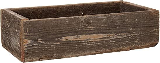 Old Farmhouse Barnwood Decorative Rustic Display Box made from 100% Authentic Reclaimed Wood