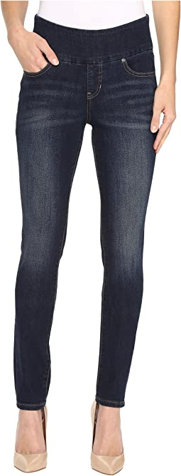 Nora Pull-On Frontline Denim Skinny in Deep Ocean