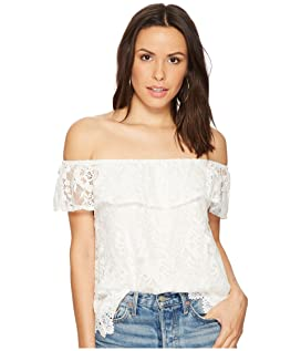 Zahara Off the Shoulder Lace Top