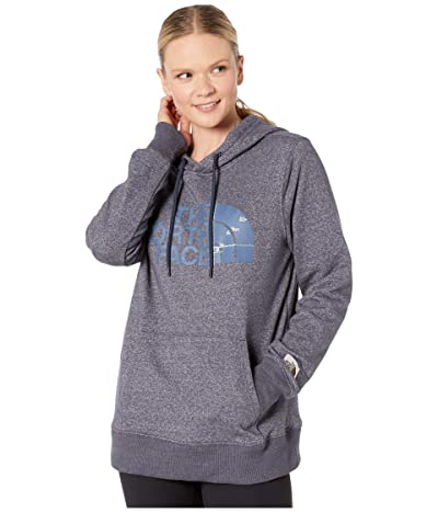 The North Face Recycled Materials Pullover Hoodie (Urban Navy Heather) Women