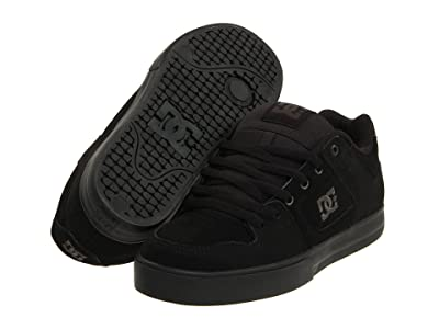 DC Pure (Black/Pirate Black) Men