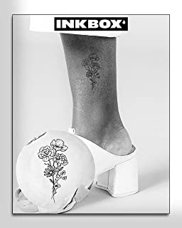 Inkbox Temporary Tattoo, One Premium Semi-Permanent, Long Lasting, Waterproof Inkbox Temporary Tattoos with For Now Ink - ...