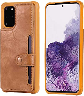 Leather Flip Case Fit for iPhone XR, brown Wallet Cover for iPhone XR