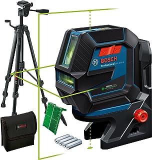 Bosch Professional Kombilaser GCL 2-50 G (grön laser, interiör, RM 10-fäste, stativ BT 150, synligt arbetsområde: upp till...