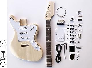 DIY Electric Guitar Kit - Offset 3 Single Coil Build Your Own Guitar Kit