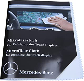 Mercedes Benz Microfasertuch weiß I original I waschbar I für die Reinigung des Touch Display I A0009865500