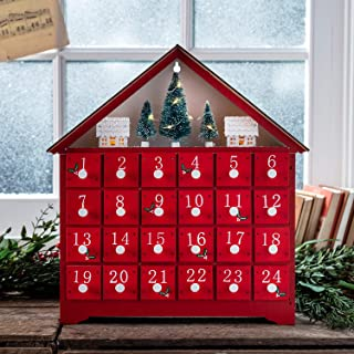Best wooden advent calendar tree Reviews
