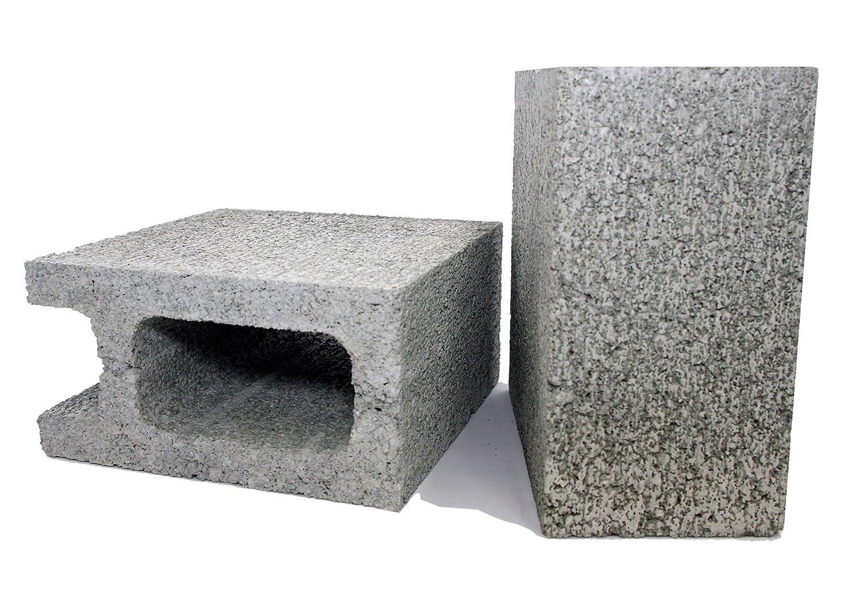 久保田セメント工業 コンクリートブロック 10cm 1/2コーナー 2個入り 1010060(2P)