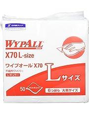 クレシア ワイプオール X70 Lサイズ 6つ折り 50枚 60374