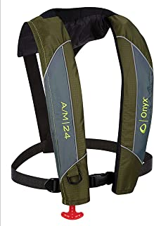 Onyx 132000-400-004-18 A/M-24 Series Automatic/Manual Inflatable Life Jacket - Green, Adult