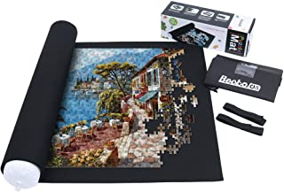 Becko Puzzle Roll Jigsaw Storage Felt Mat, Jigroll Up to 1,500 Pieces, Environmental Friendly Material for Jigsaw Puzzle P...