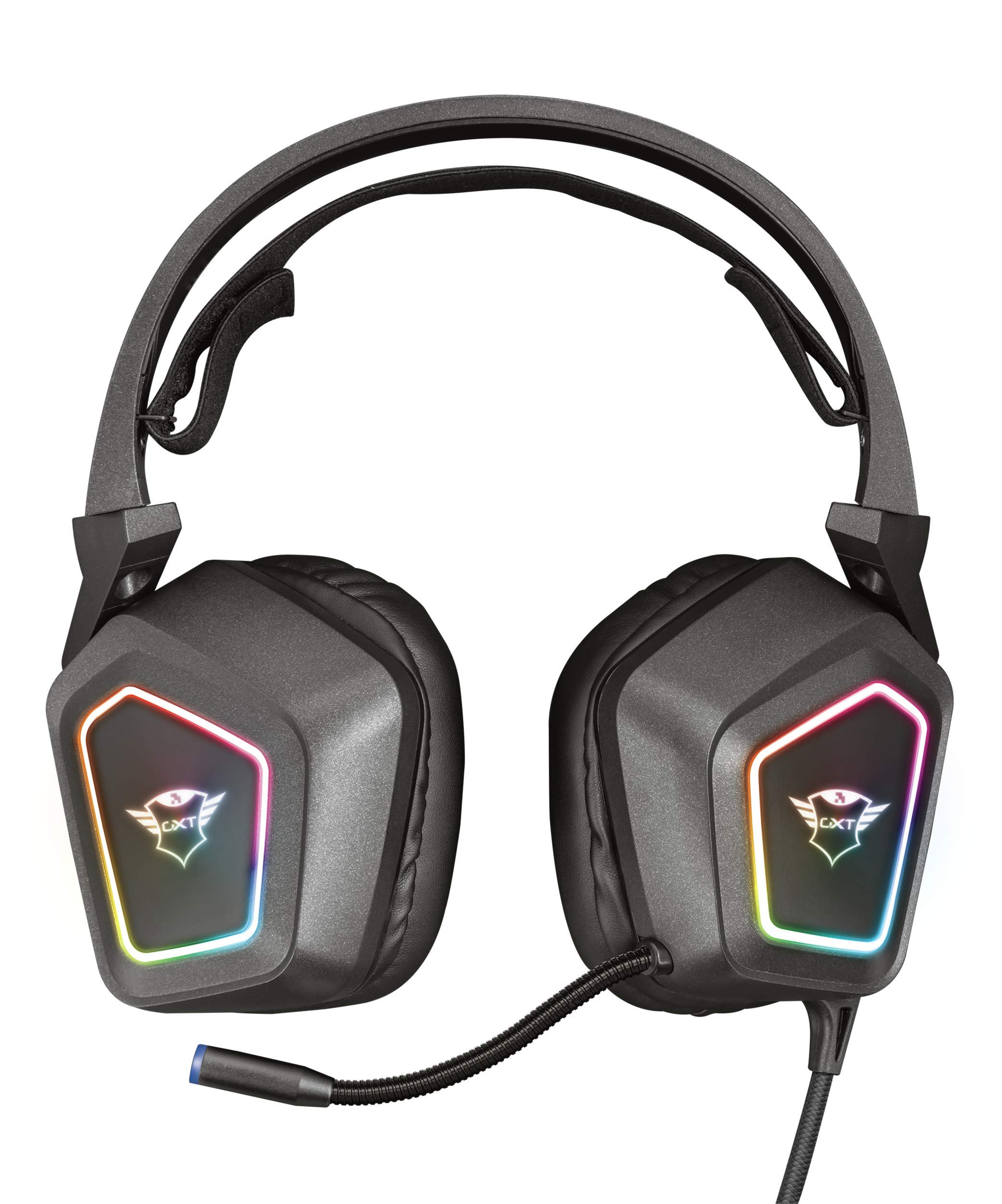 Trust Gaming GXT 450 Blizz RGB 7.1 Gaming Headset for PC and