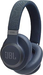 JBL LIVE 650BTNC - Cuffie Over-Ear Wireless Bluetooth, Con Alexa integrata e Assistente Google, Fino a 30h di Autonomia, Colore Blu