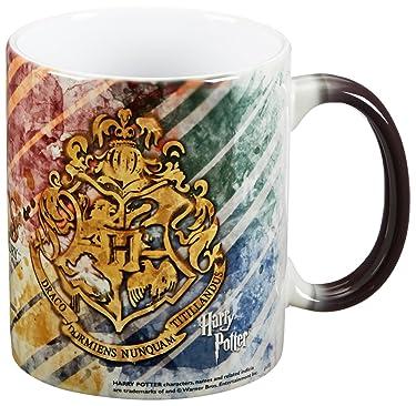 Morphing Mugs Harry Potter (Hogwarts) Ceramic Mug, Black