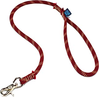 ドッグ・ギア ザイルリード タイプS ロープ径8mm 全長100cm ブリックレッド 「愛犬とのコミュニケーションを楽しむためのリードです」