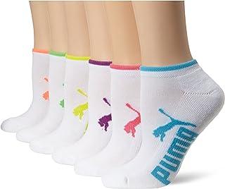 Puma - Calcetines de corte bajo para mujer (6 unidades)