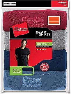Hanes Men's 3-Pack Crew Neck T-Shirt (XX-Large, Assorted)