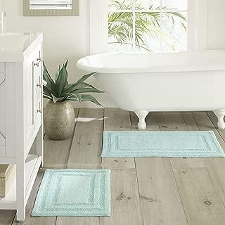 Tommy Bahama Isla Bath Rug Set, 17x24, Turquoise