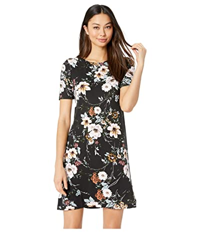 Yumi Kim Livi Shift Dress (Flower Patch Black) Women