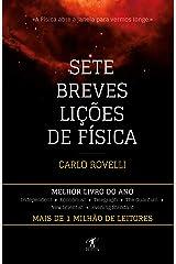 Sete breves lições de Física (Portuguese Edition) Kindle Edition