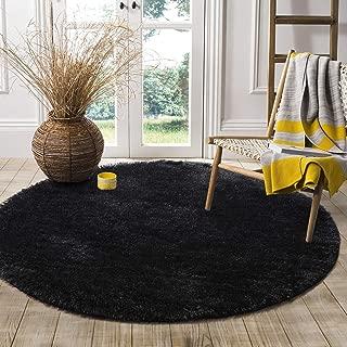 Best black round carpet Reviews