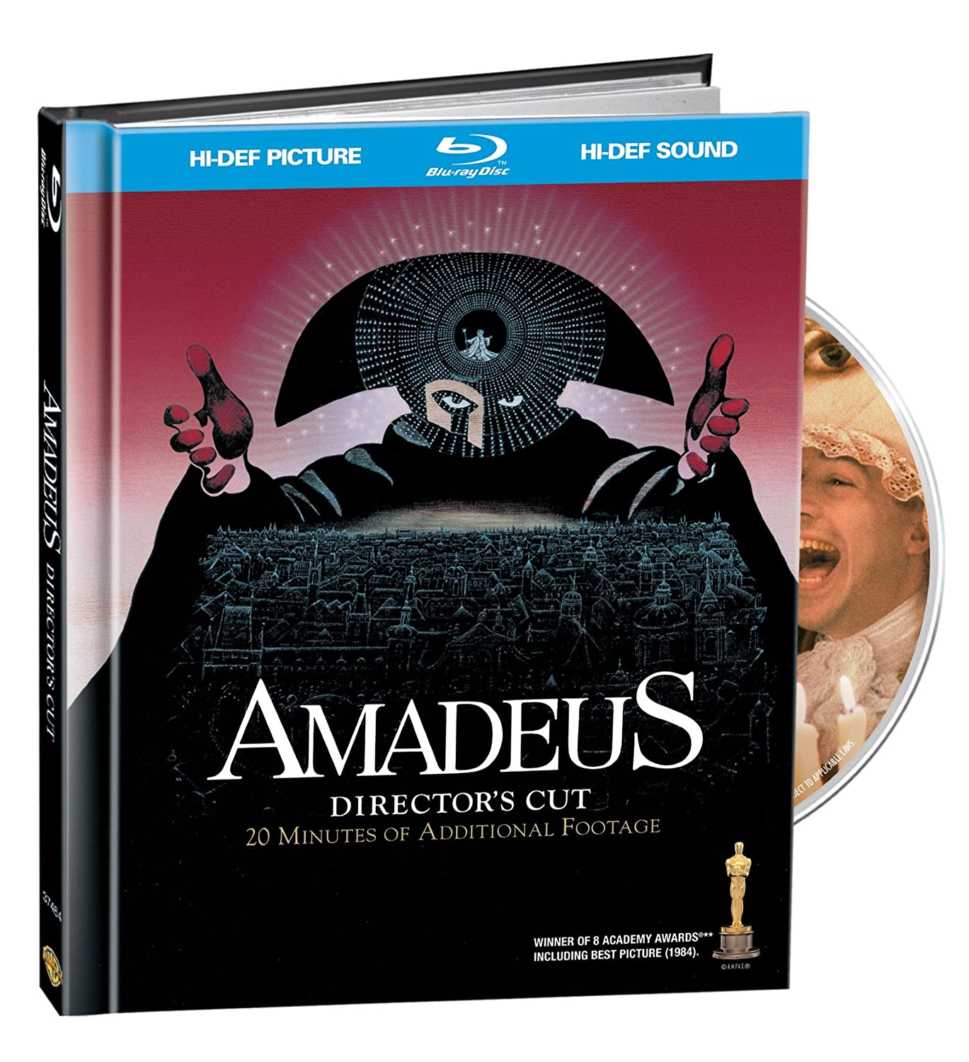 Excellent Amadeus online shopping Director's Cut Book Blu-ray