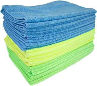 Zwipes 1015303 Microfiber Cleaning Cloths | All-Purpose | Assorted Colors | 36 Pack