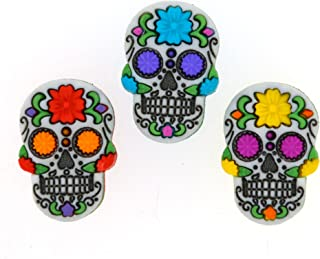 Dress It Up Buttons 9137 Day of The Dead