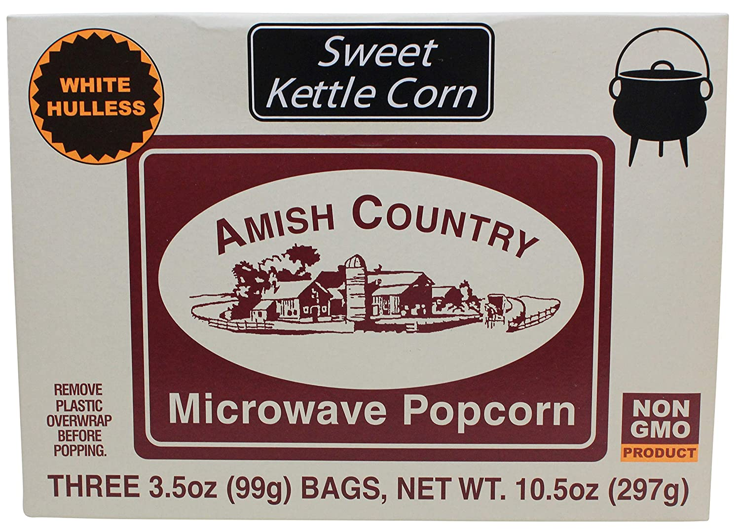Amish Max 44% OFF Country Rapid rise Popcorn Old Microwave Fashioned Fa