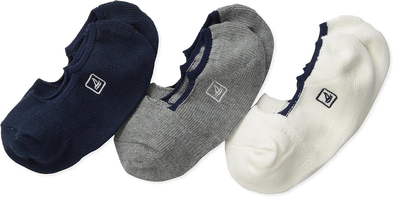 Sperry boys Skimmer Multicolor 3 Pack Liner Socks