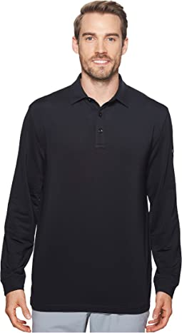 Callaway - Extra Soft Long Sleeve French Terry Heathered Solid Polo